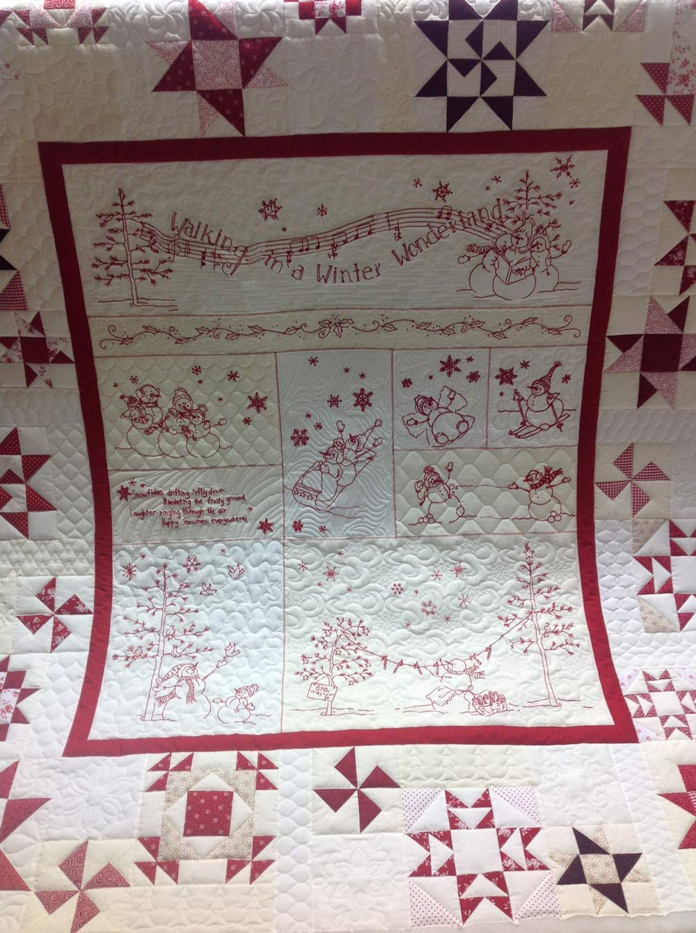 Winter Wonder Land Quilting