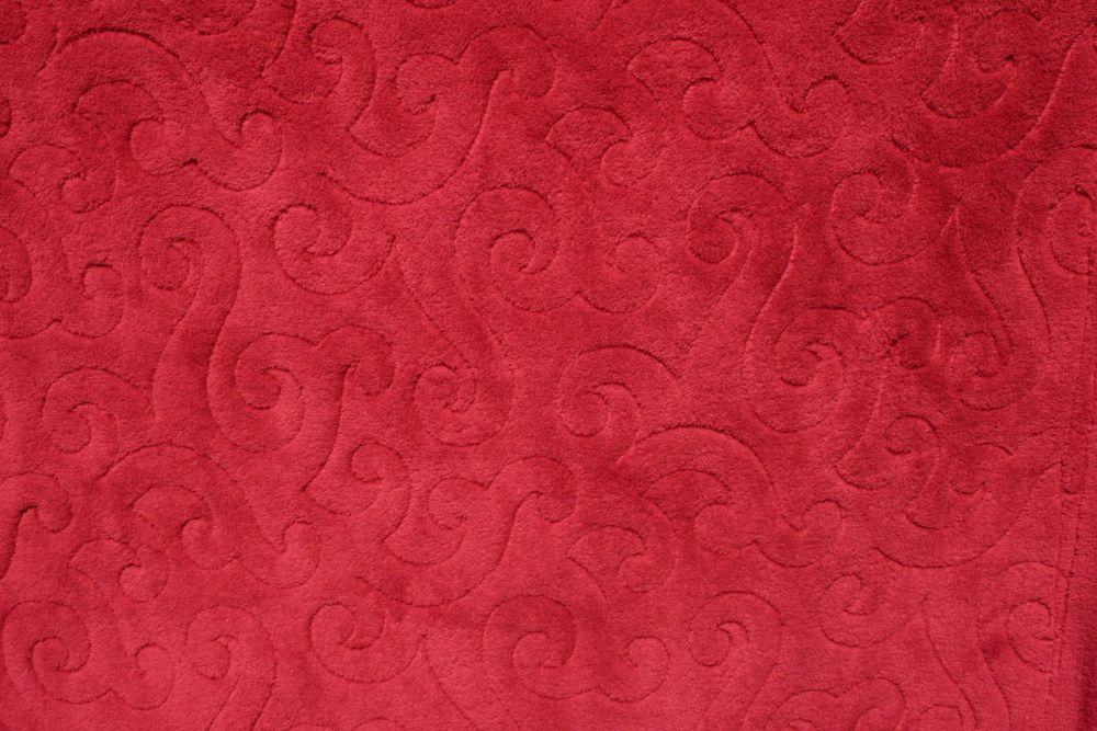 Rücken Allover Fleece Decke