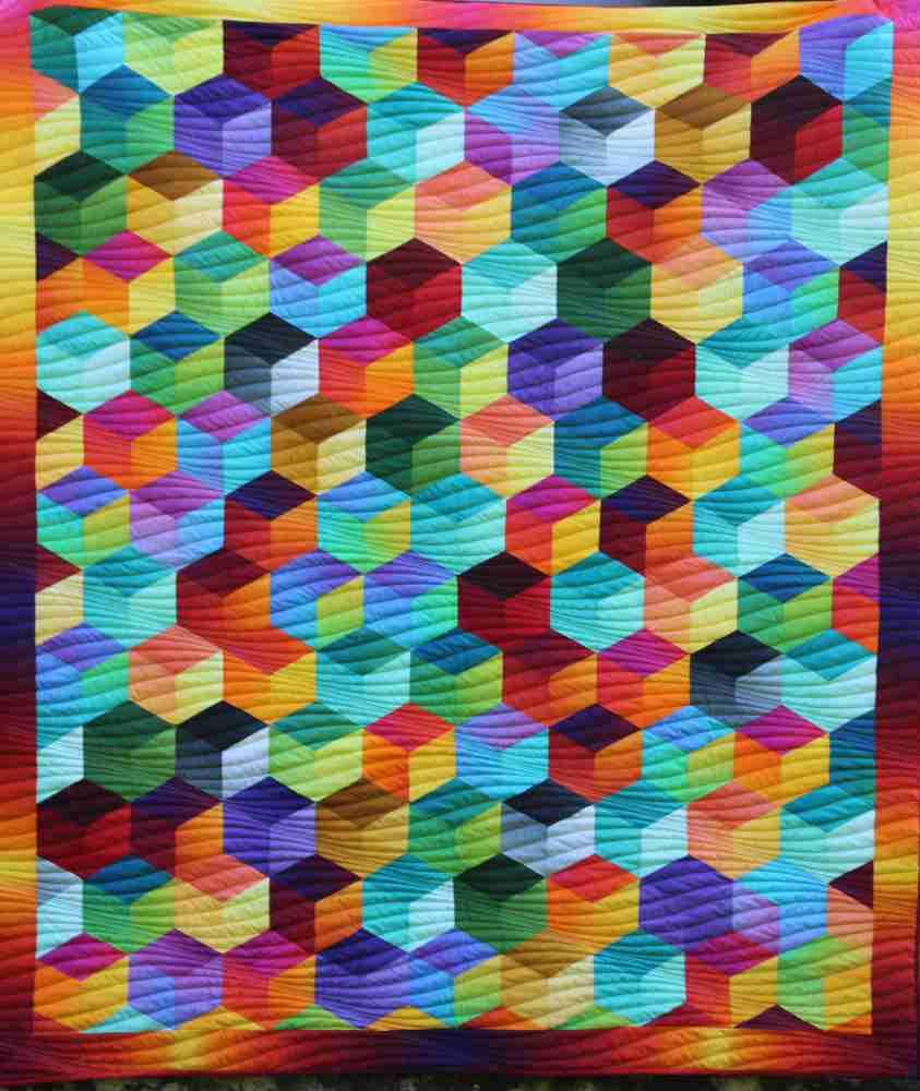 Rainbow Cube Top Gesamt