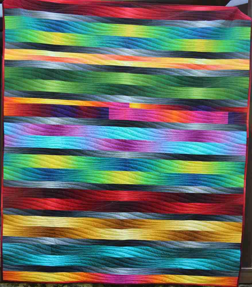 Rainbow Cube Rücken Gesamt