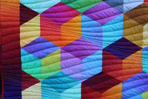 Rainbow Cube Randgestaltung