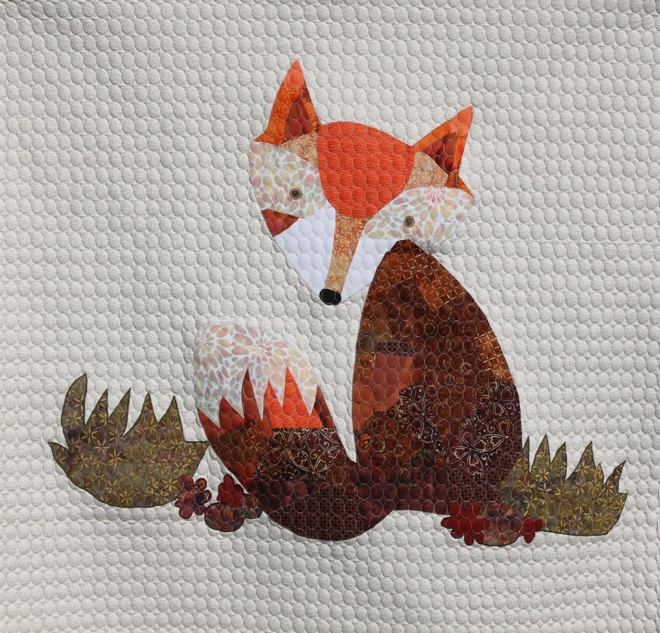 Foxy Laura Heine Quilting by Arttextil.eu