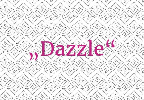 Allover Quilting Pattern Dazzle