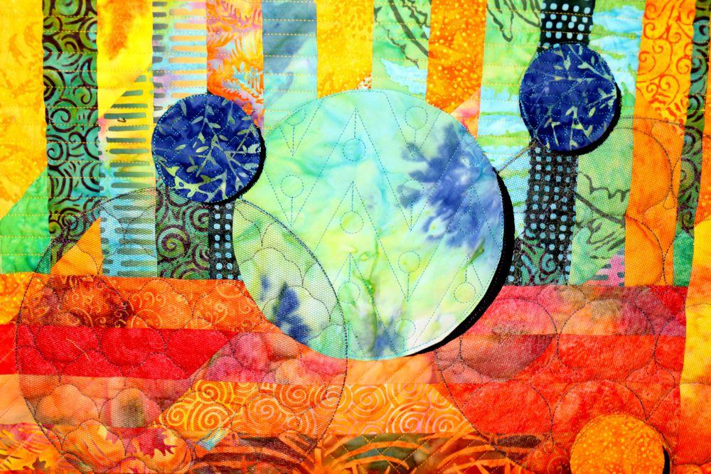 Bubblicious individuelle Mustergestaltung der einzelnen Kreise