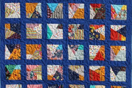 Sampler mit Daisy Doodle Quiltmuster