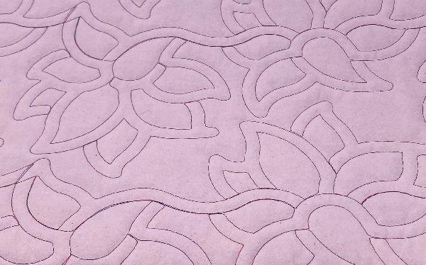 blumen design magenta